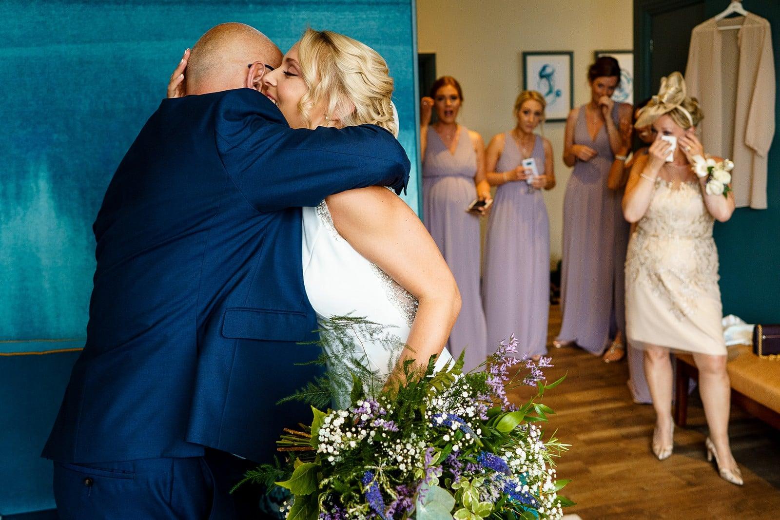 emotional wedding at the greenbank hotel