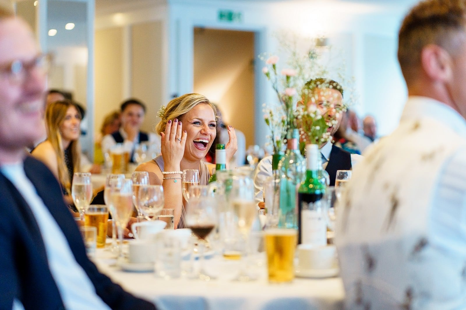 funny wedding speeches at the greenbank hotel