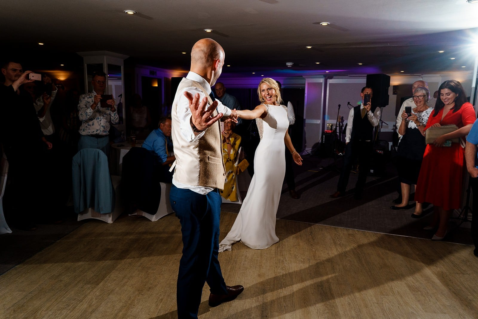 wedding dance a the greenbank hotel