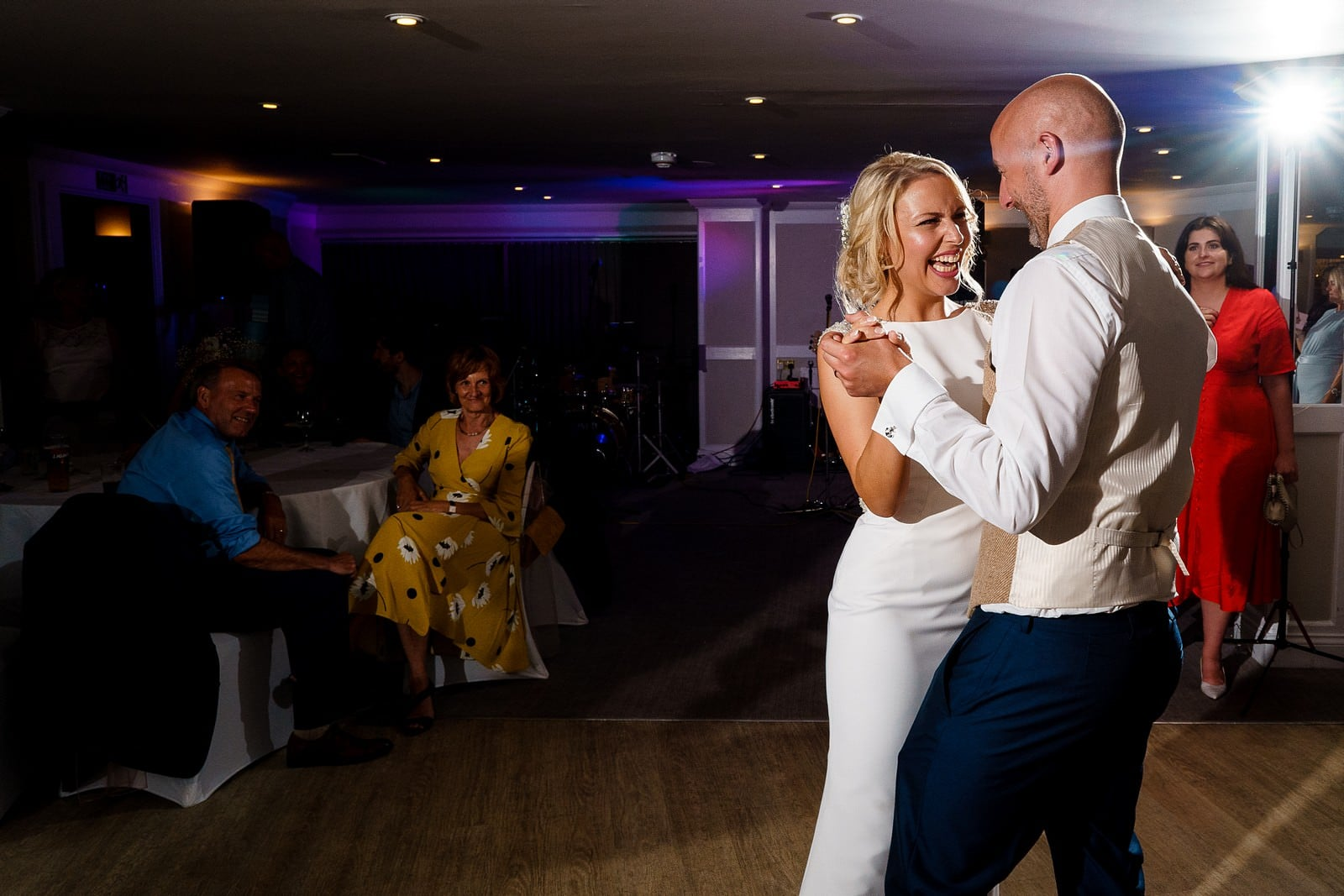 first dance at the greenbank hotel