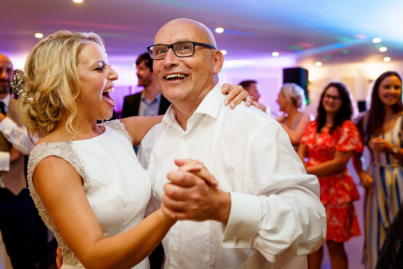 father of the bride dance at the greenbank hotel