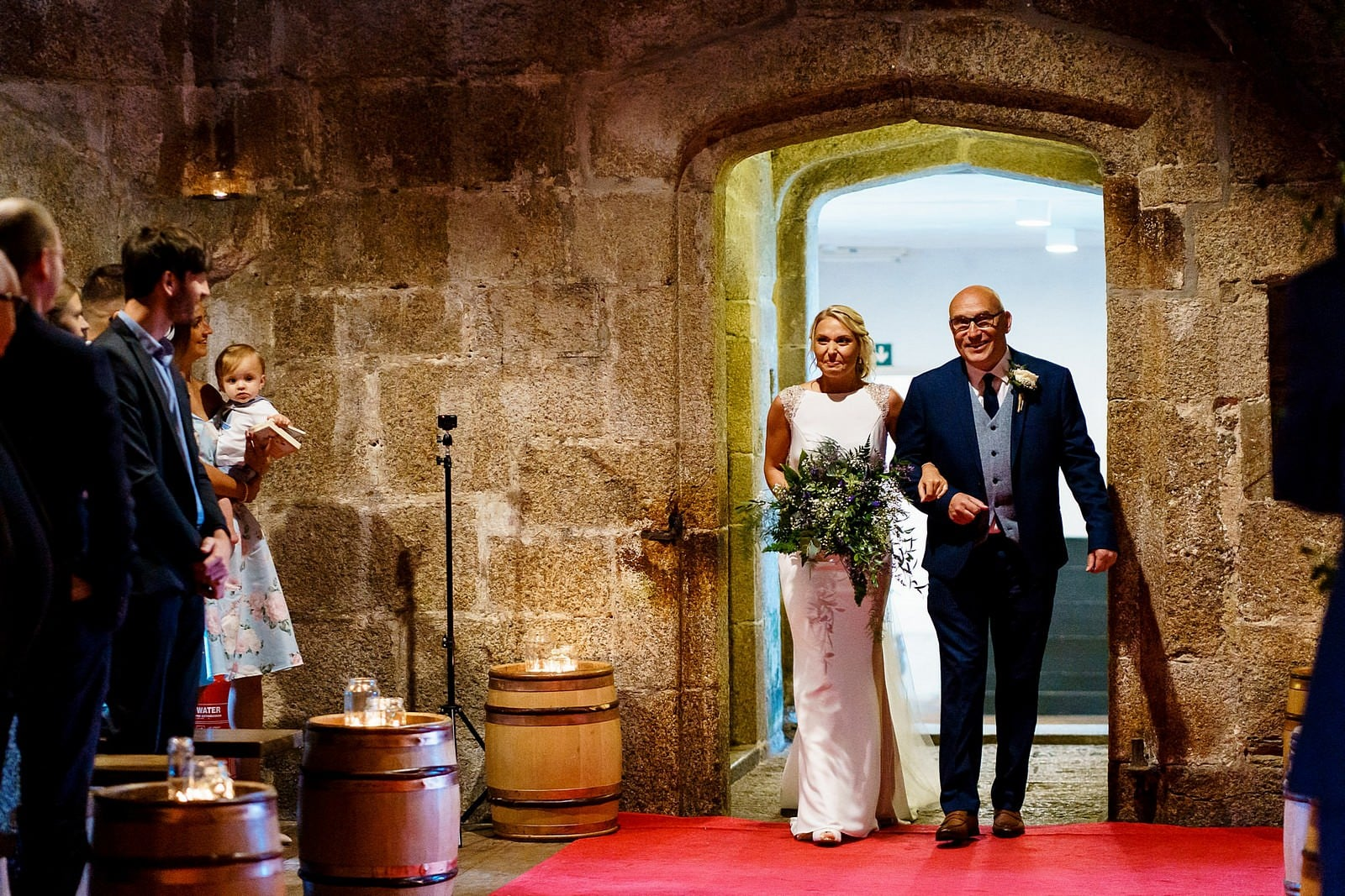wedding at Pendennis in Falmouth