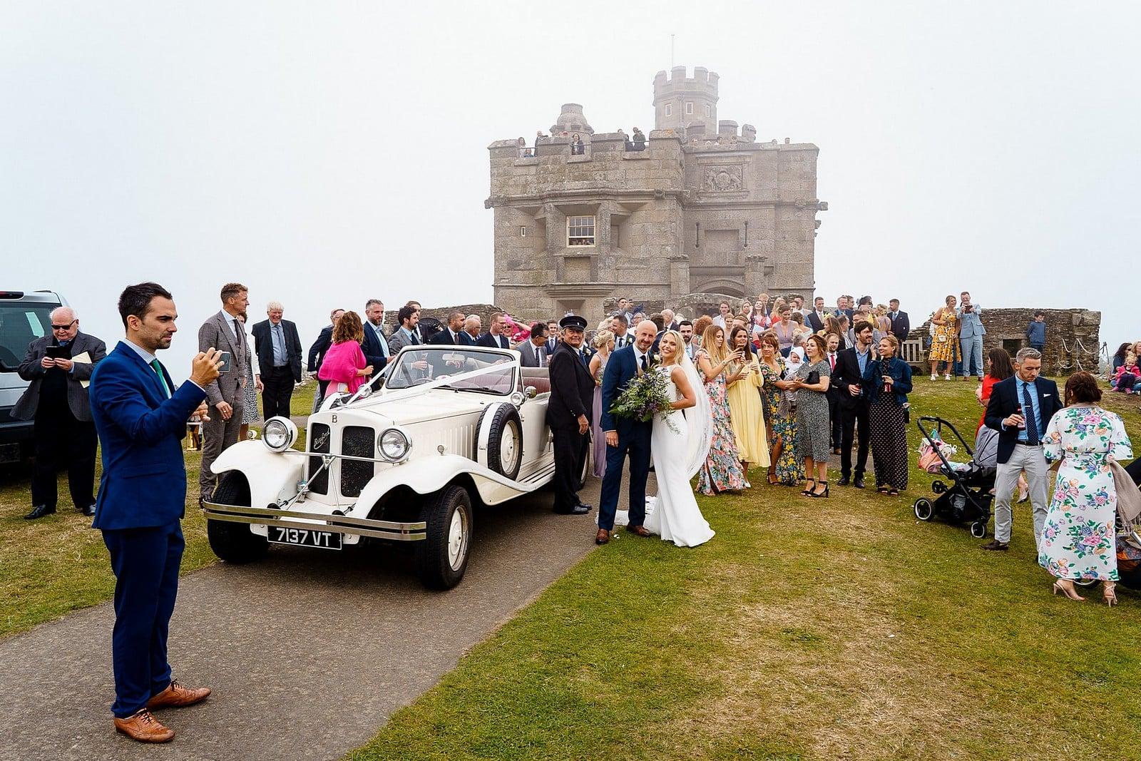 Pendennis Castle wedding photographer 33