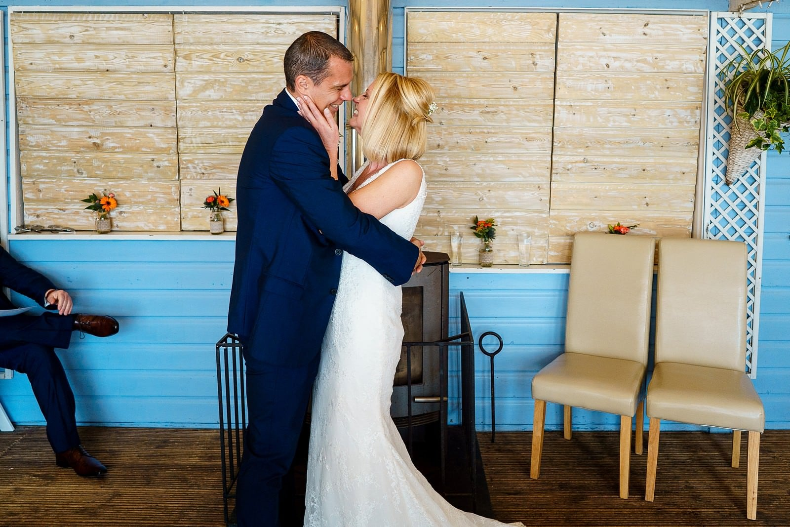 getting married at lusty glaze in newquay
