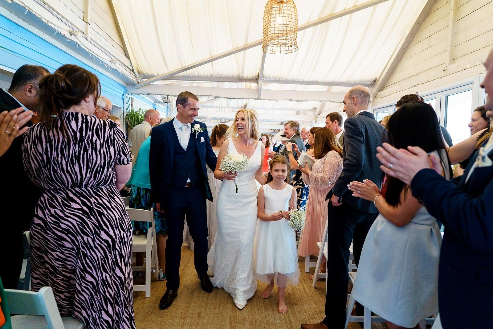 wedding ceremony at lusty glaze