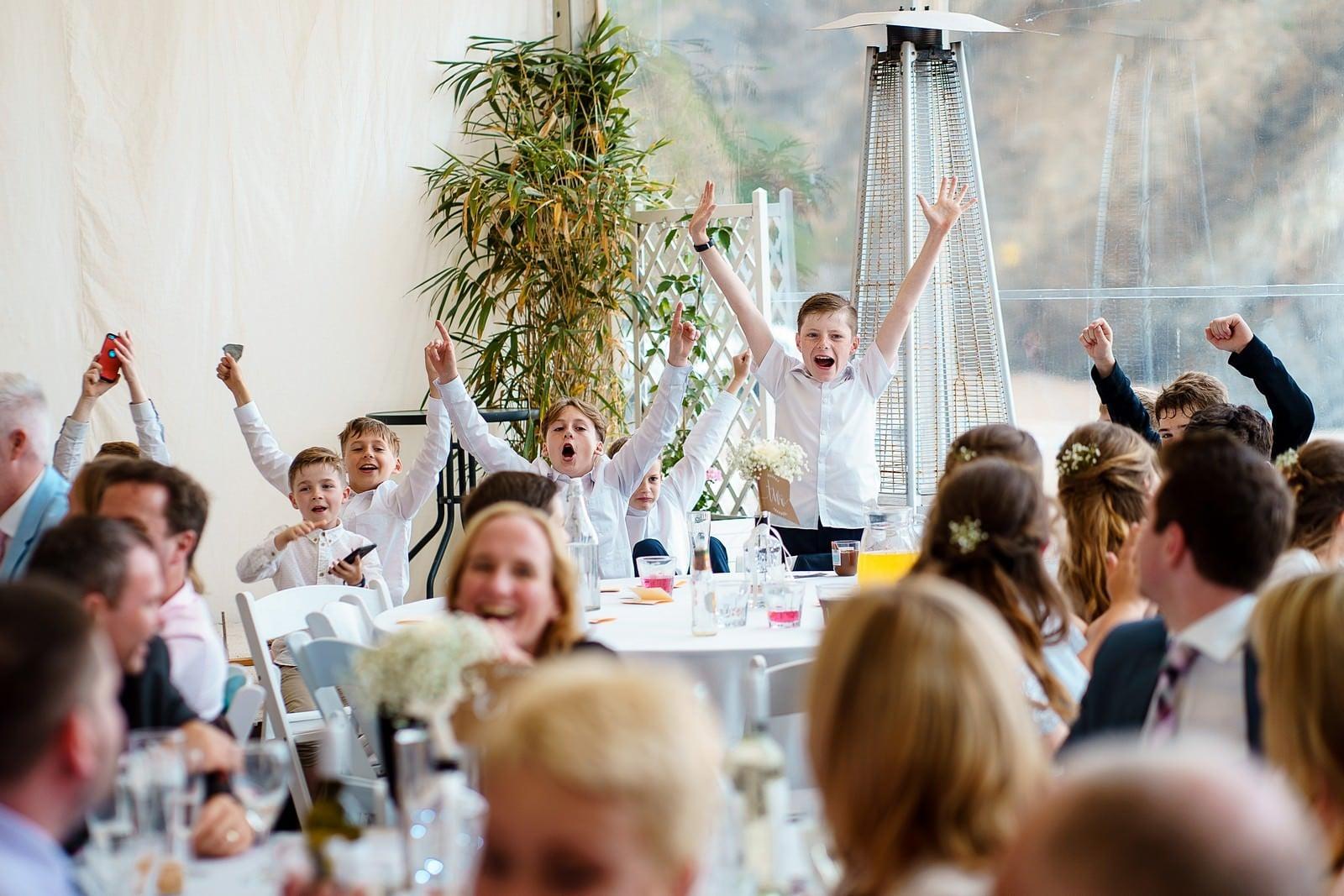 paige boys at a lusty glaze wedding in nequay