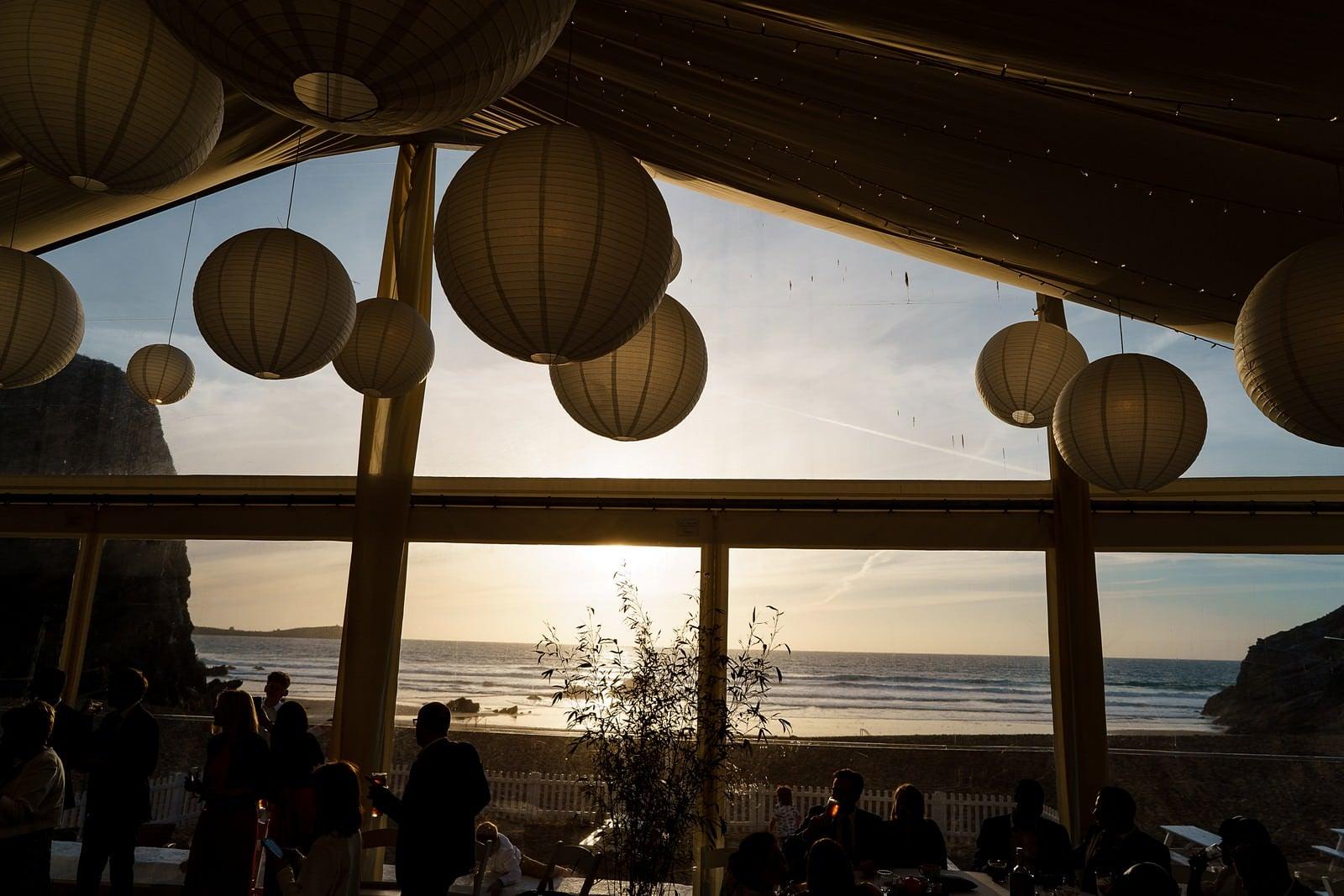 beach volleyball at a lusty glaze wedding