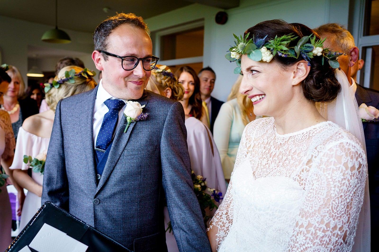 Rosevine hotel wedding ceremony 1