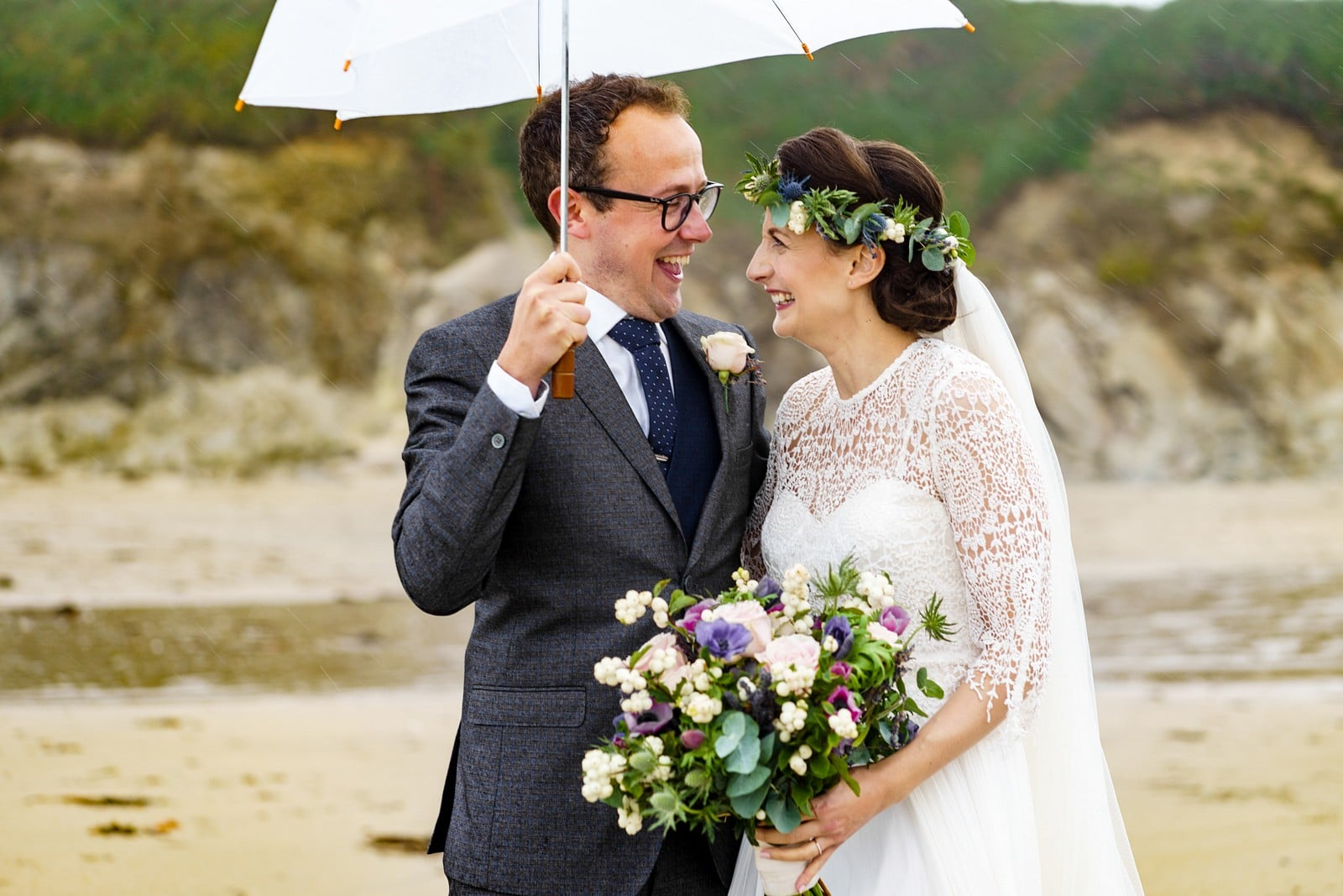 beach wedding photography at the Rosevine hotel 1