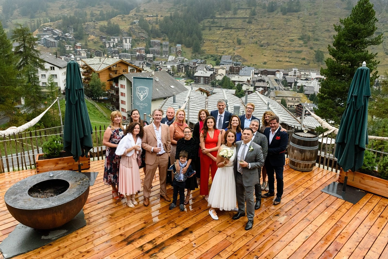 wedding at Hotel Cervo in Zermatt 1
