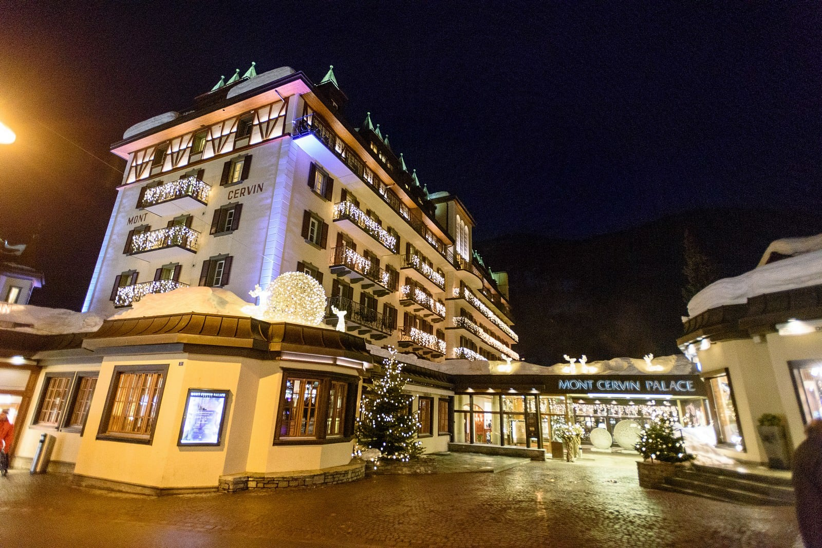 wedding at Hotel Mont Cervin Palace in Zermatt 4