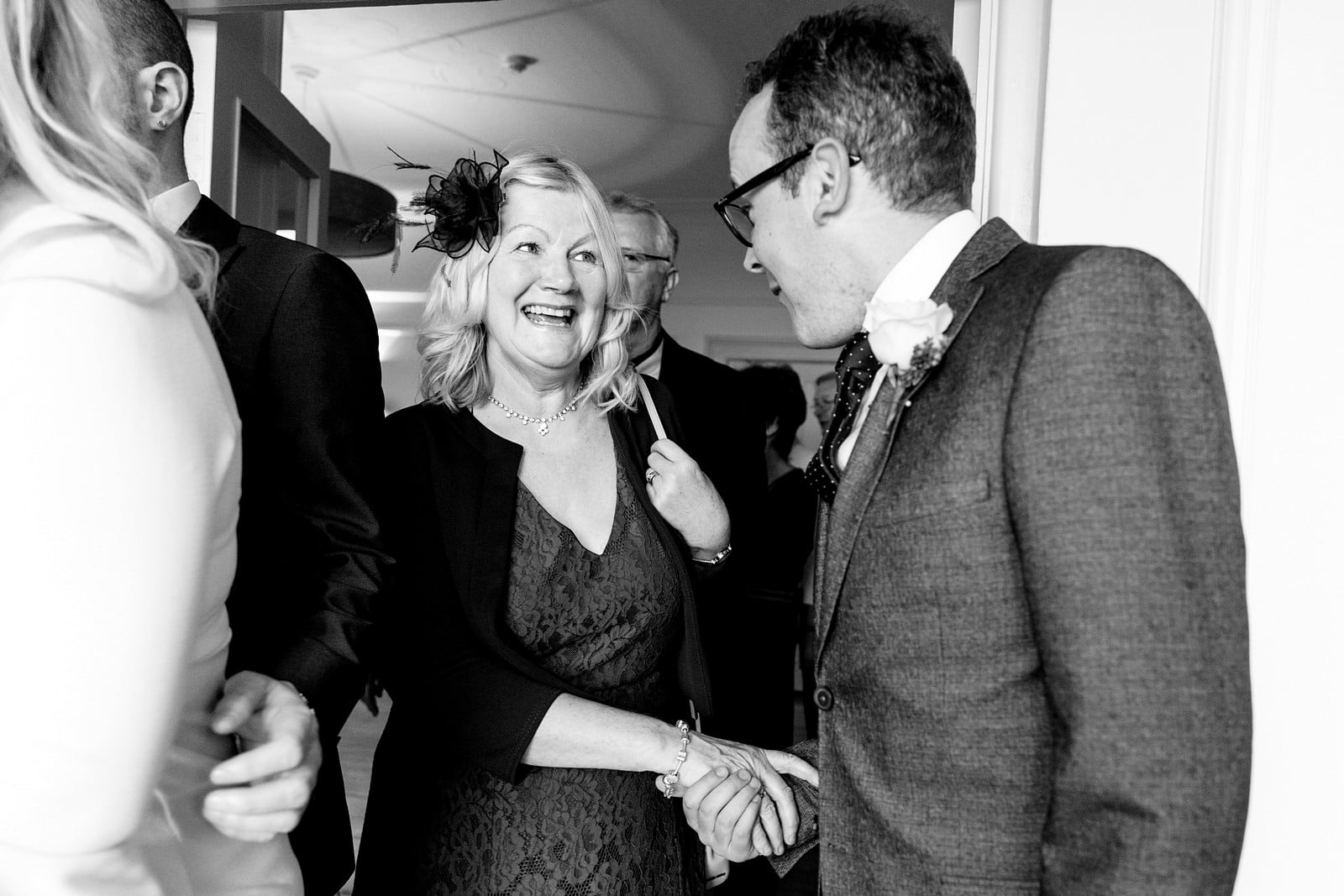 wedding guests at the rosevine hotel 1