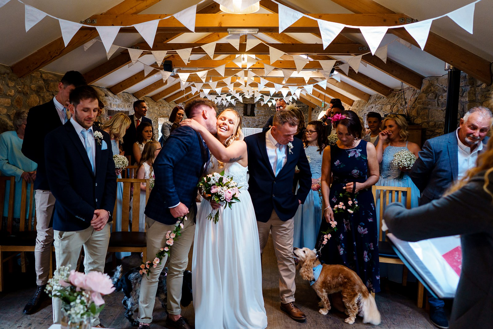 beautiful wedding at knightor winery 36