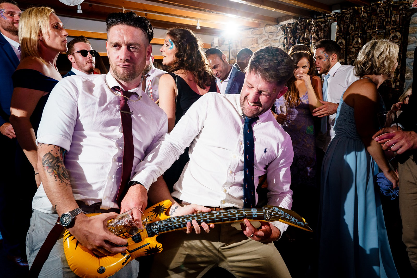 crazy dance floor at knightor winery 110