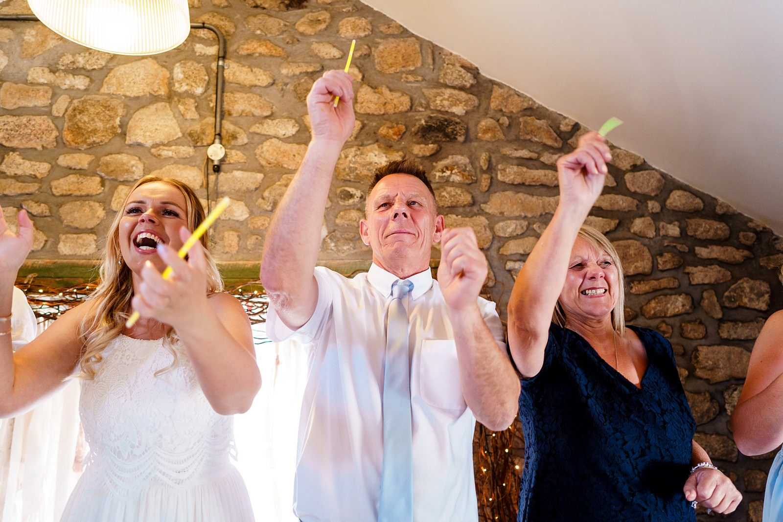 crazy wedding party at knightor winery 99