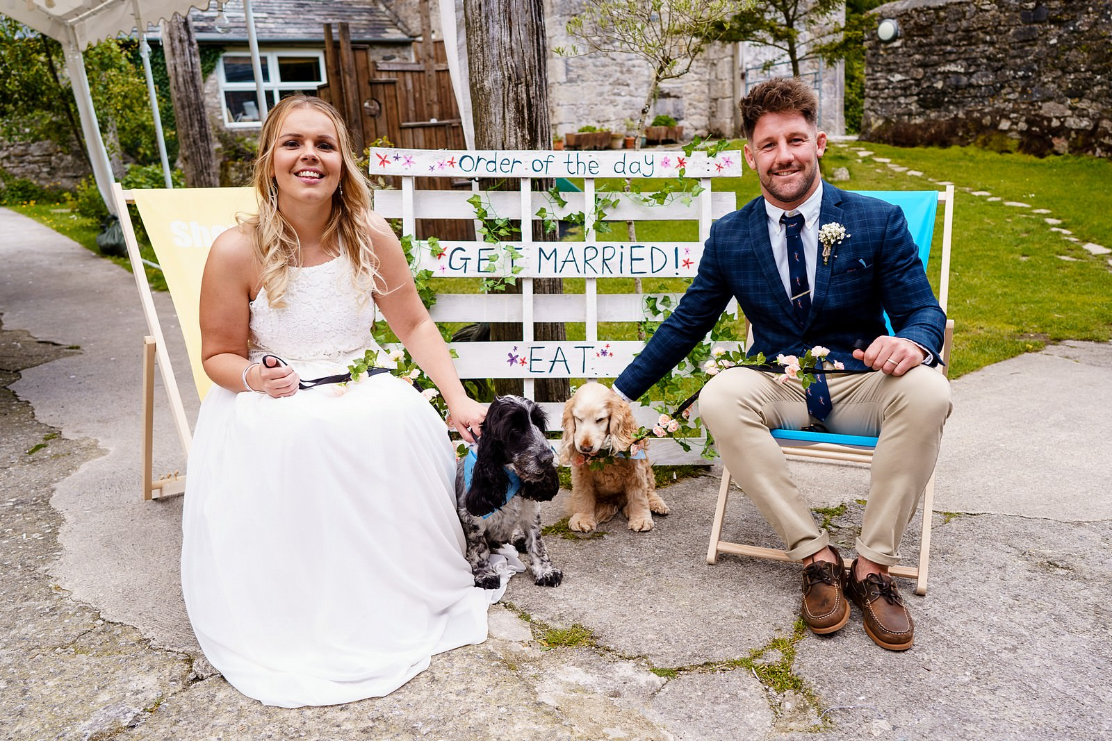 dogs at weddings in cornwall 59