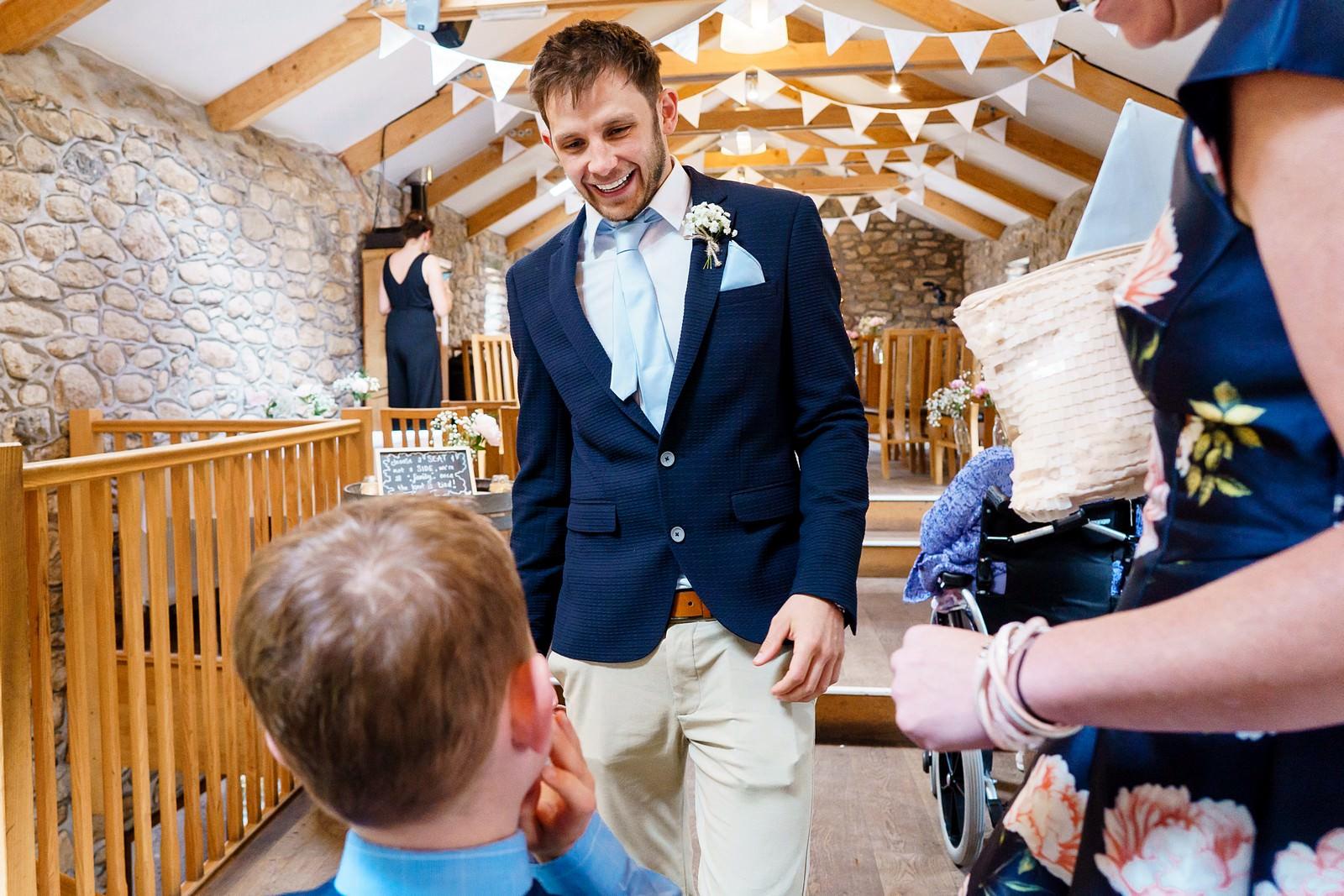 wedding ceremony at knightor winery 31