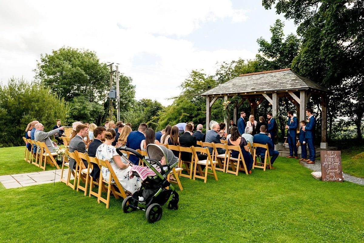 Boho wedding at Trevenna barns 13