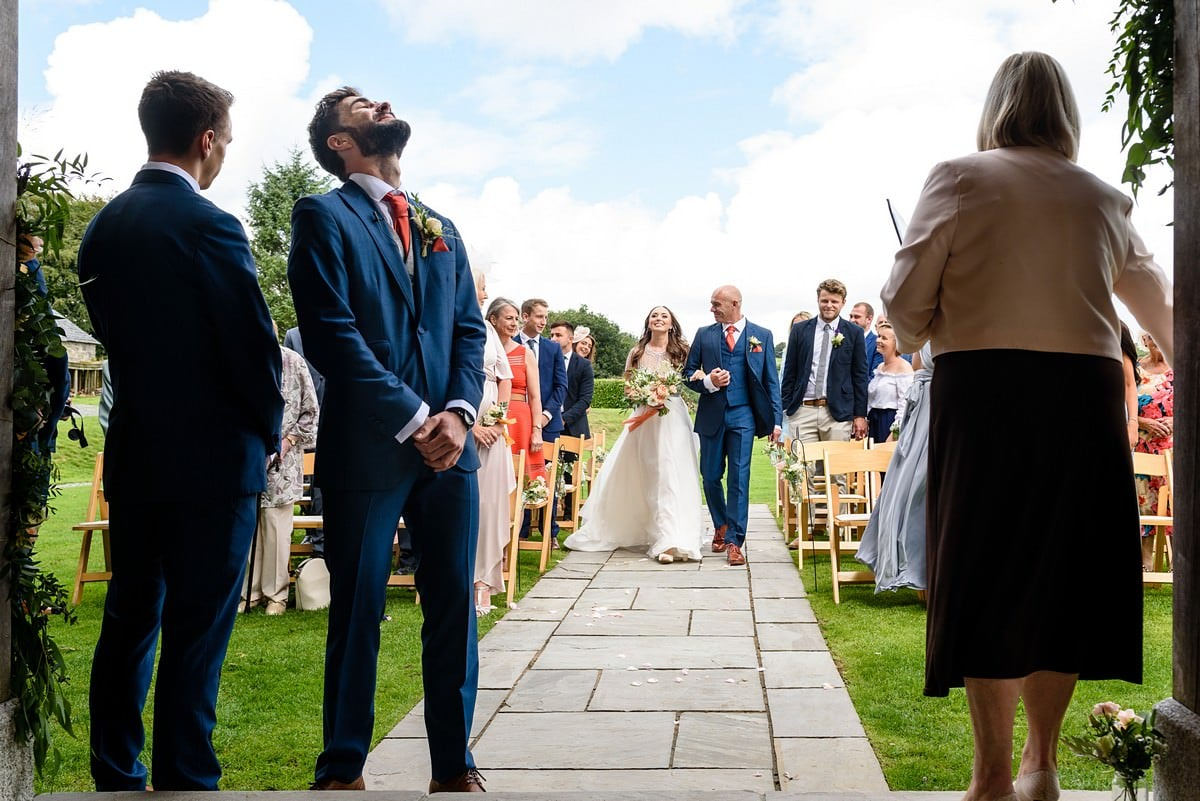 Boho wedding at Trevenna barns 17