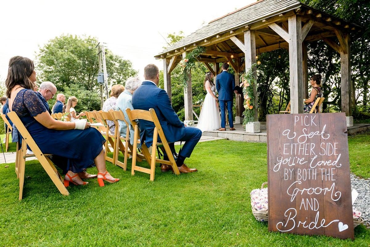 Boho wedding at Trevenna barns 19