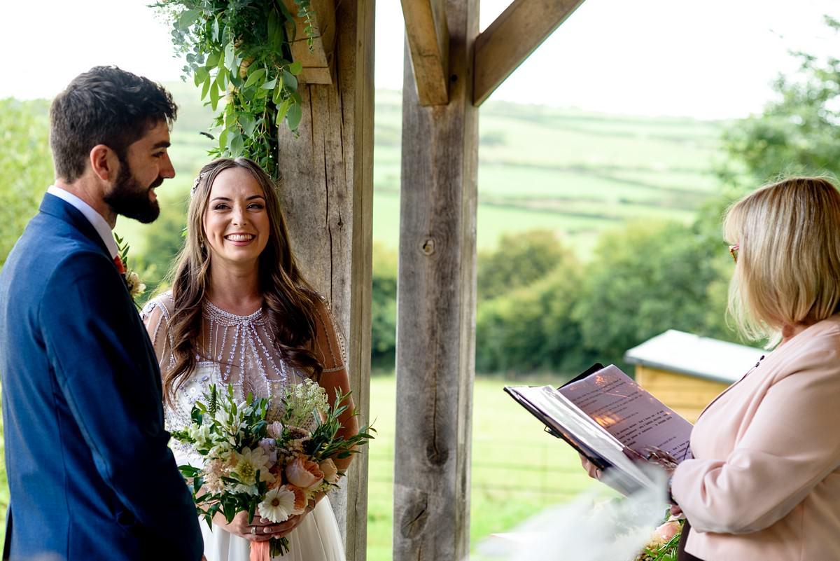 Boho wedding at Trevenna barns 20