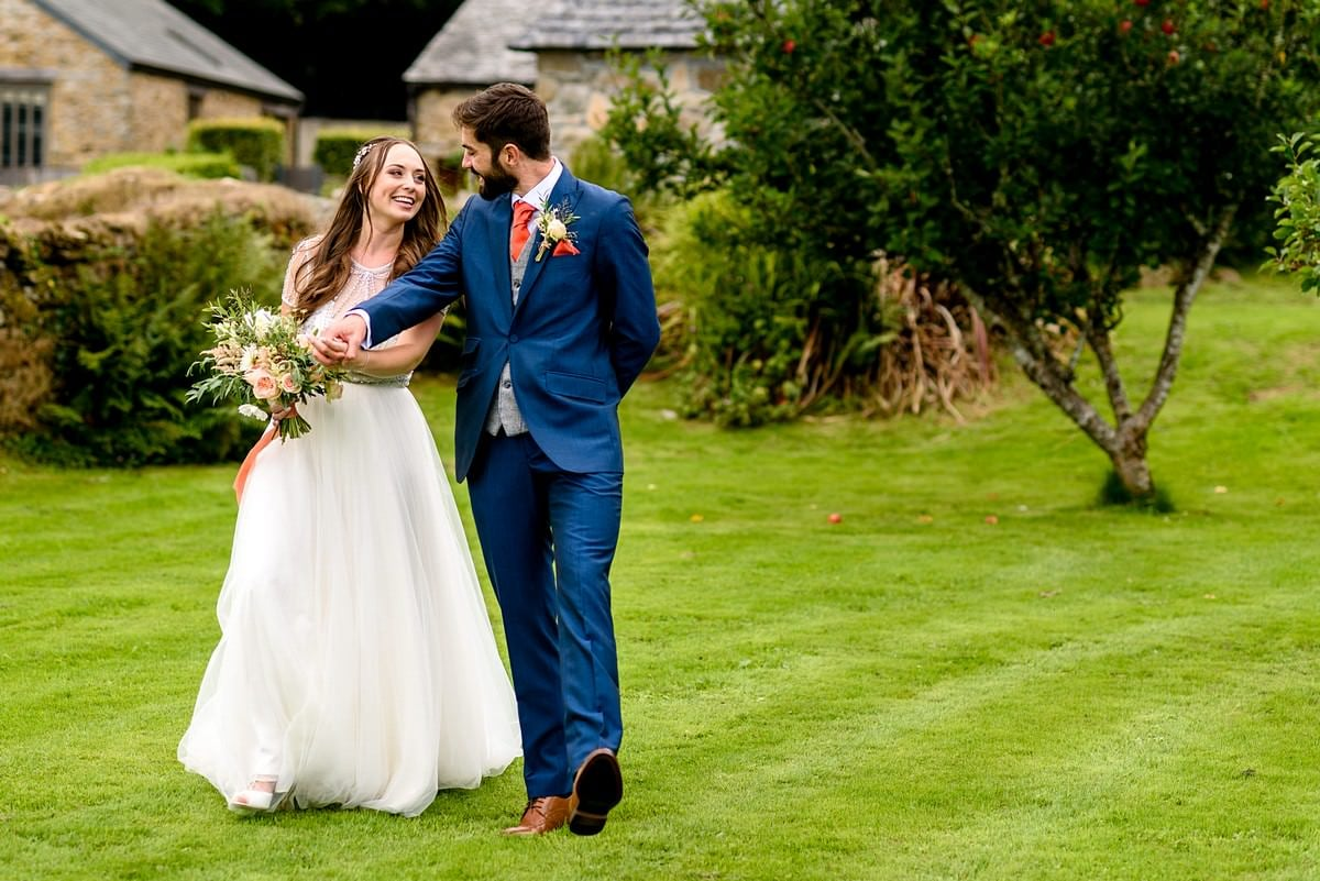 getting married at Trevenna barns