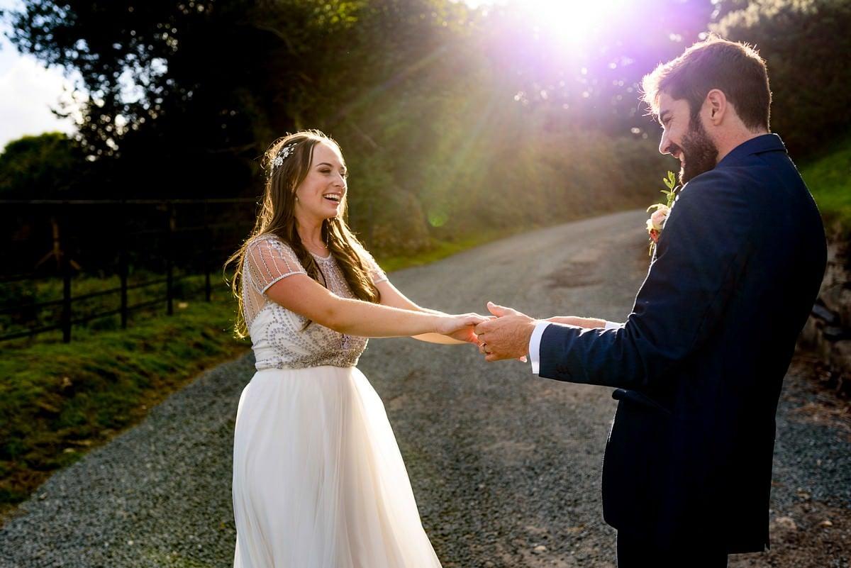 Boho wedding at Trevenna barns 49