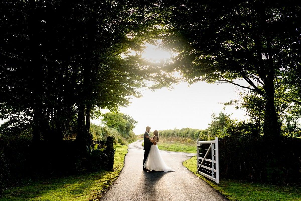 wedding photography at Trevenna barns 3