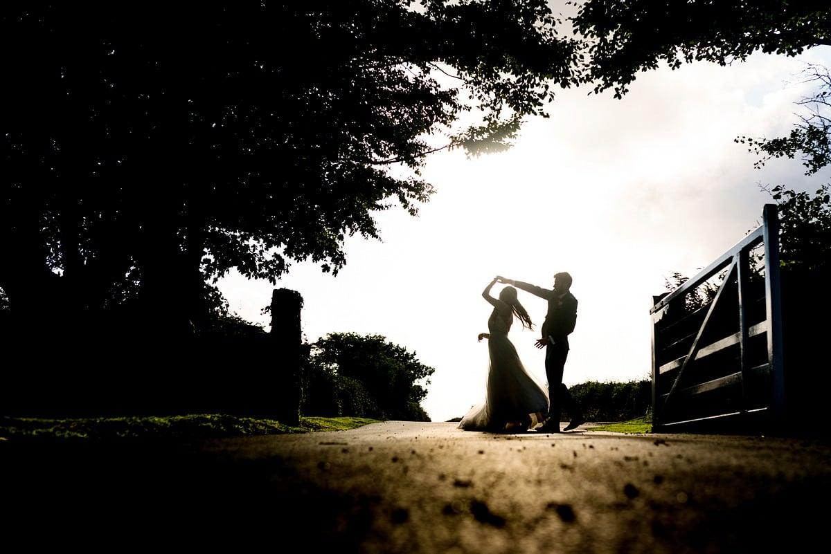 Boho wedding photography at Trevenna Barns