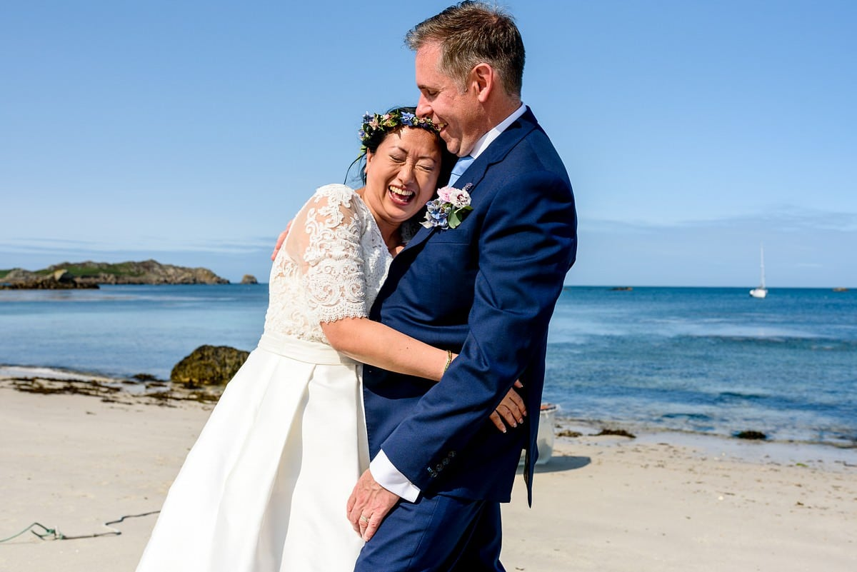wedding photography on the Isles of Scillys