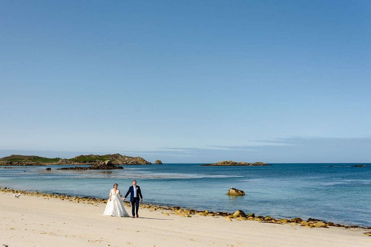 Wedding photography on St Martins Island