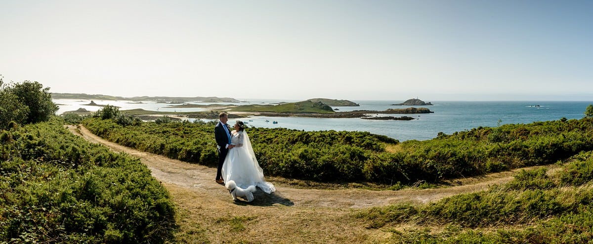 Stunning wedding photography on the Isles of Scillys