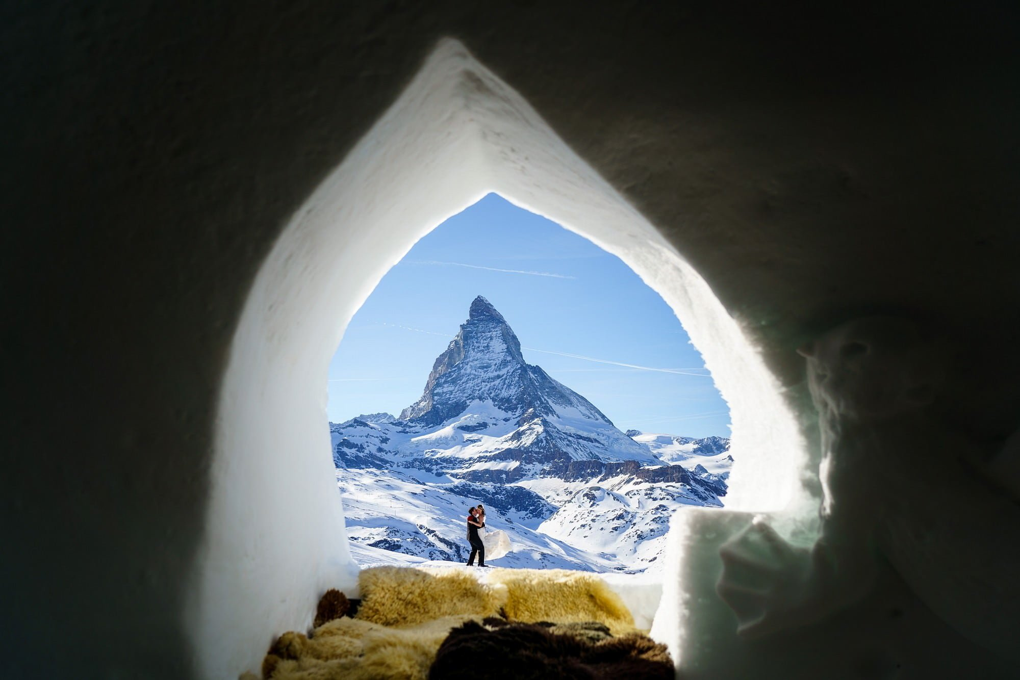elopement wedding in zermatt 1