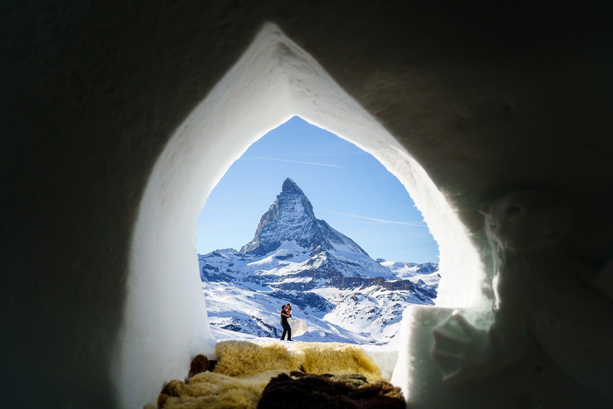 elopement wedding in zermatt 1