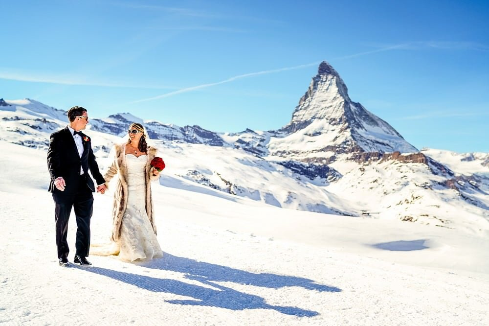 elopement wedding in zermatt 2