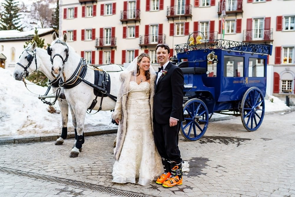 Getting married at the Grand Zermatterhof hotel