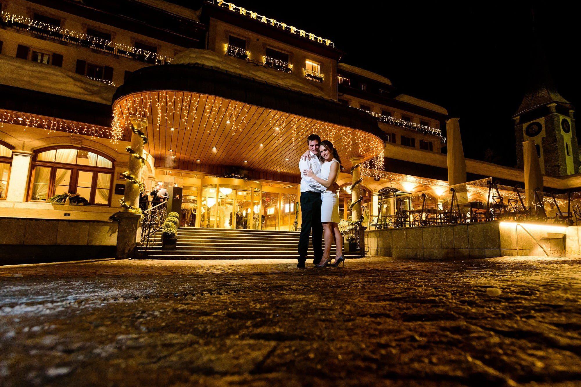 wedding at the zermatterhof