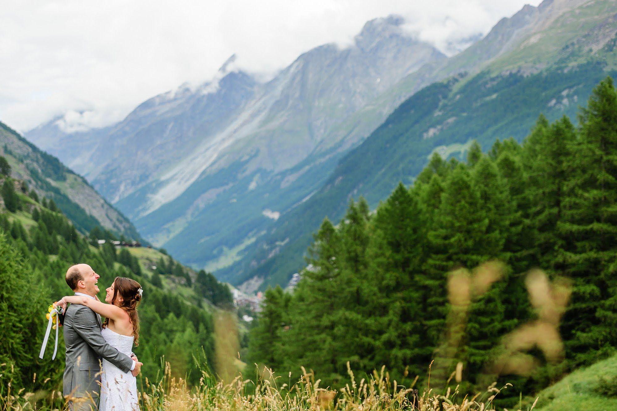 verbier summer wedding