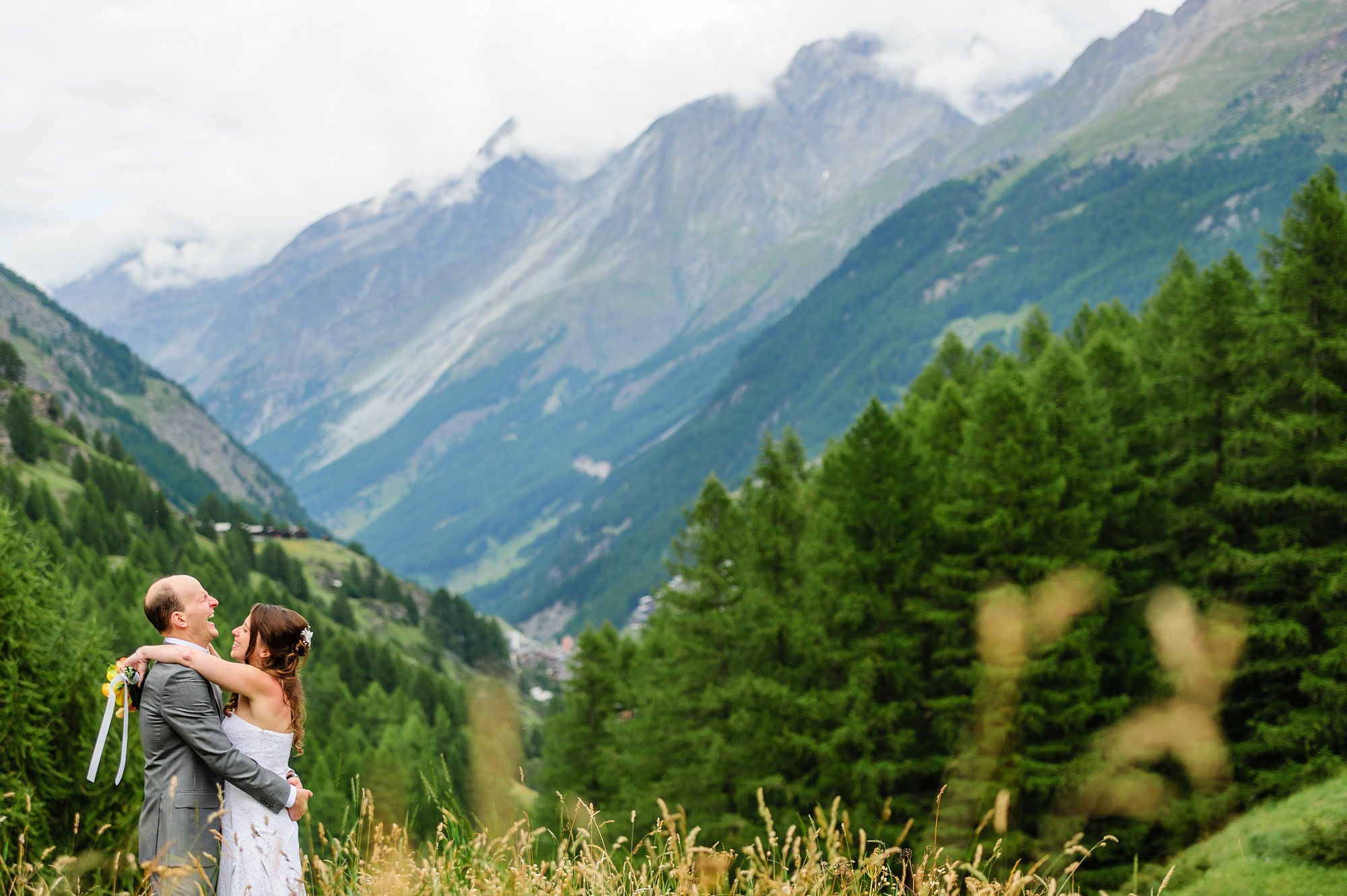 verbier summer wedding