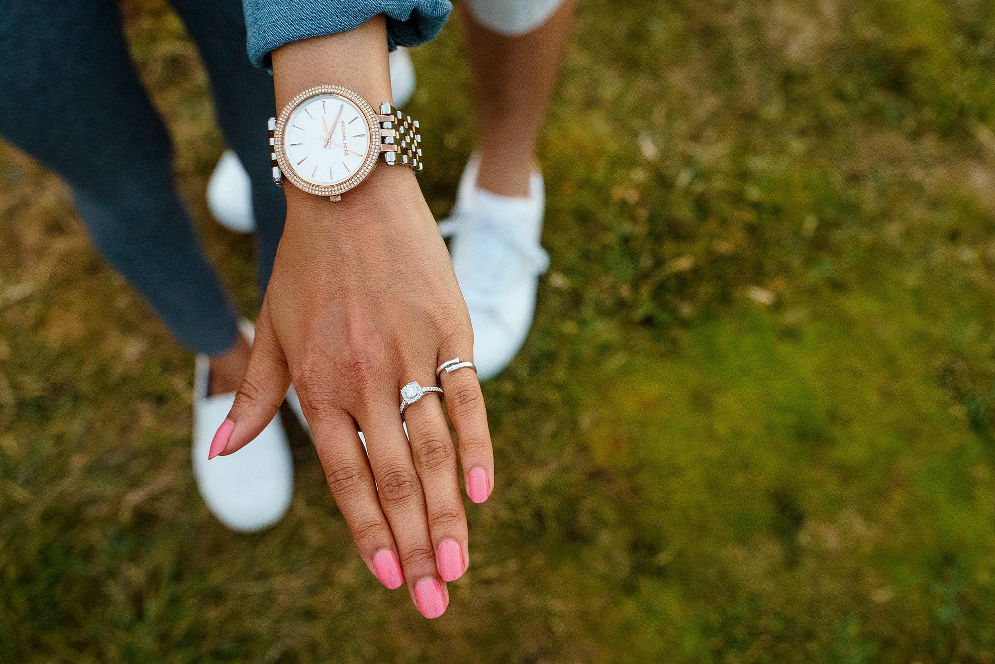 Cornish coast wedding proposal 5