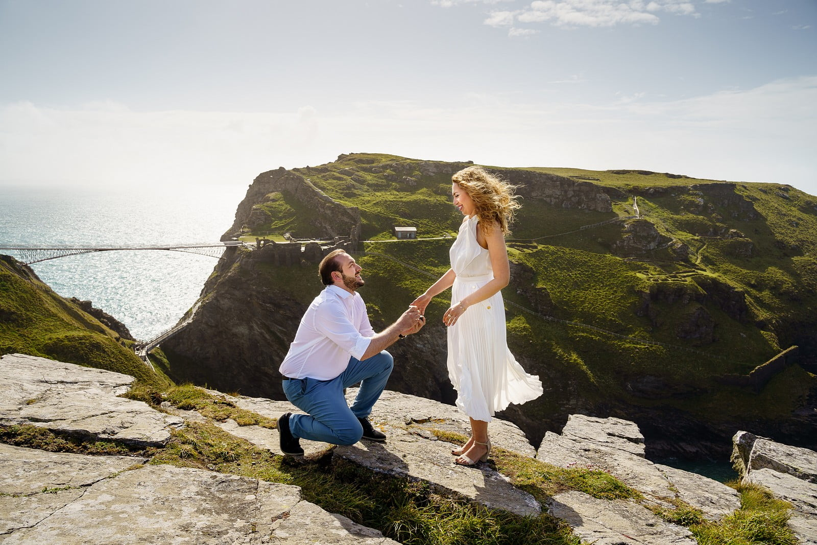 Top 5 places for a wedding proposal in Cornwall