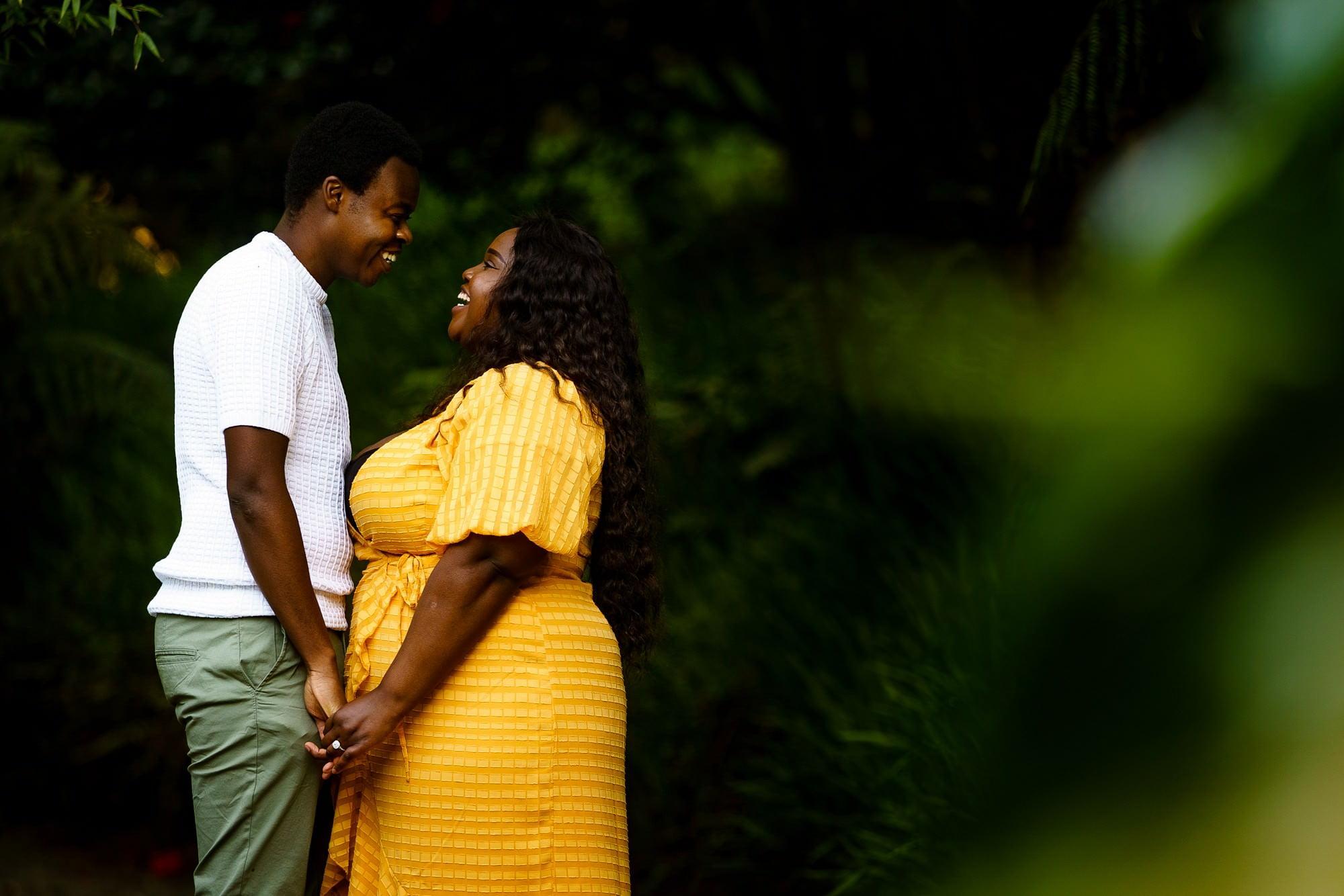 Trebah gardens wedding proposal 14