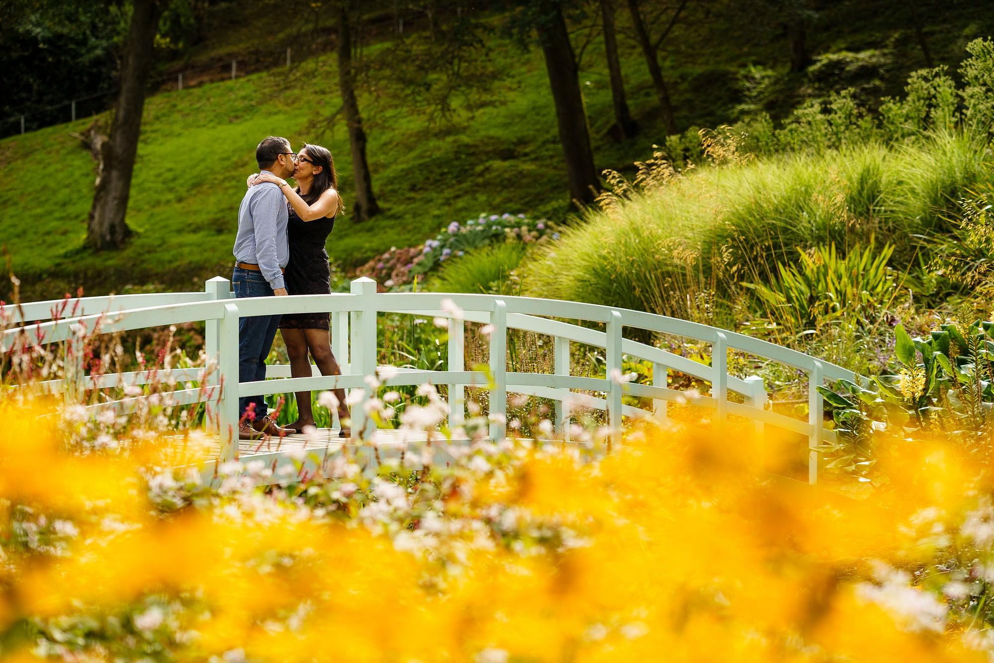 Trebah gardens wedding proposal 16