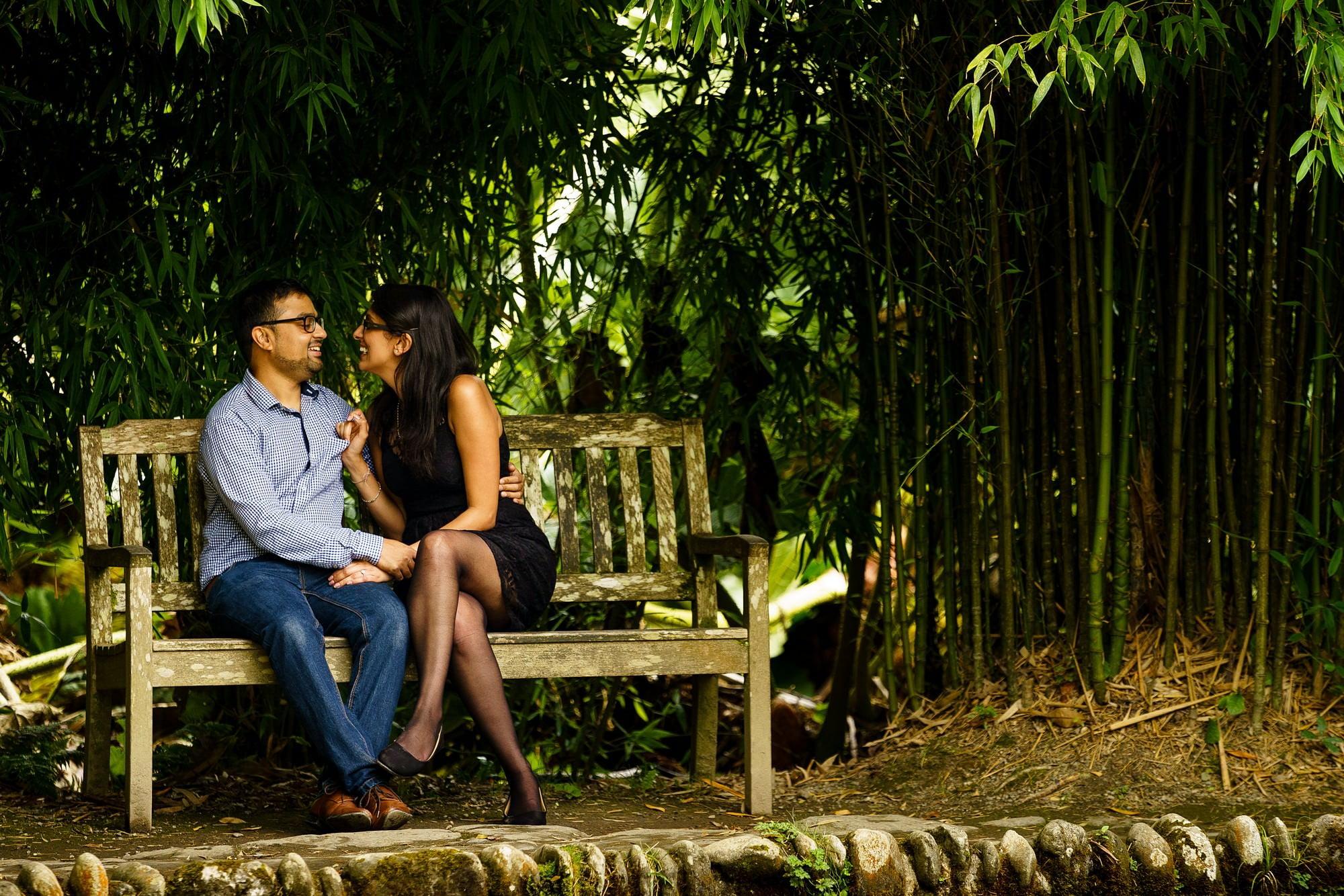 Trebah gardens wedding proposal 17