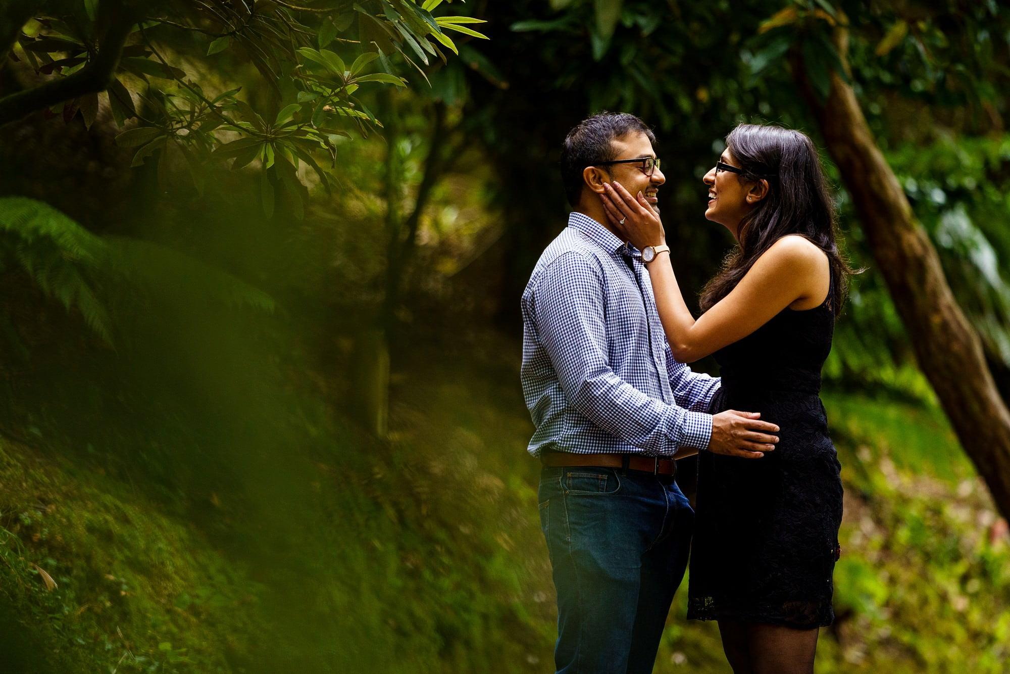 indian wedding proposal in cornwall
