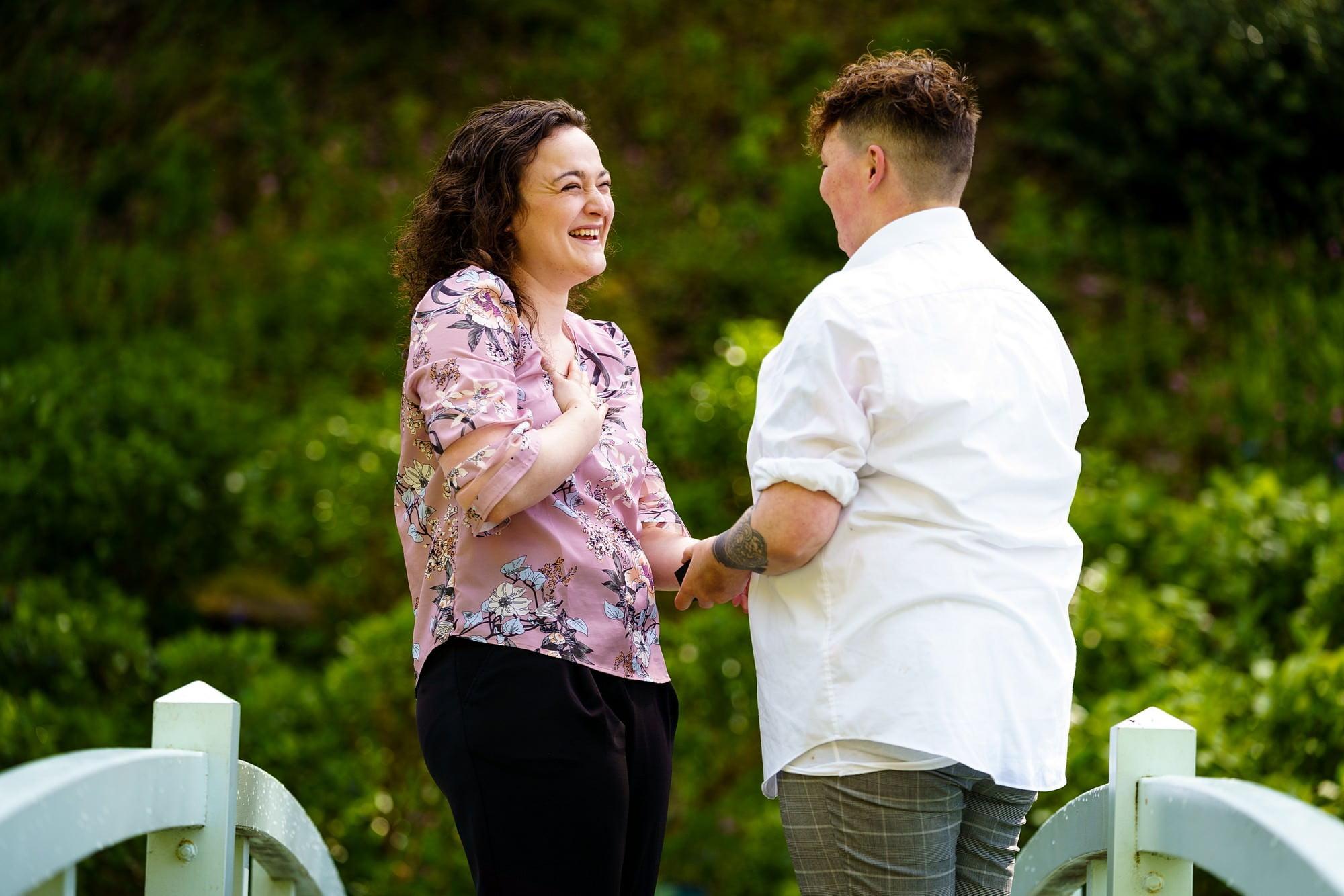 gay wedding proposal in cornwall
