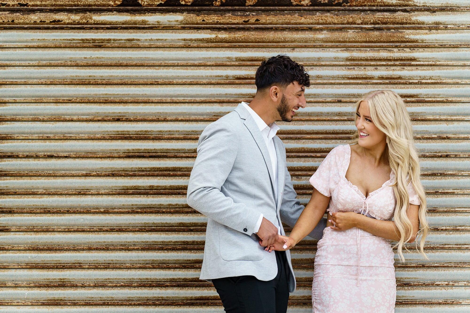 perranporth wedding proposal