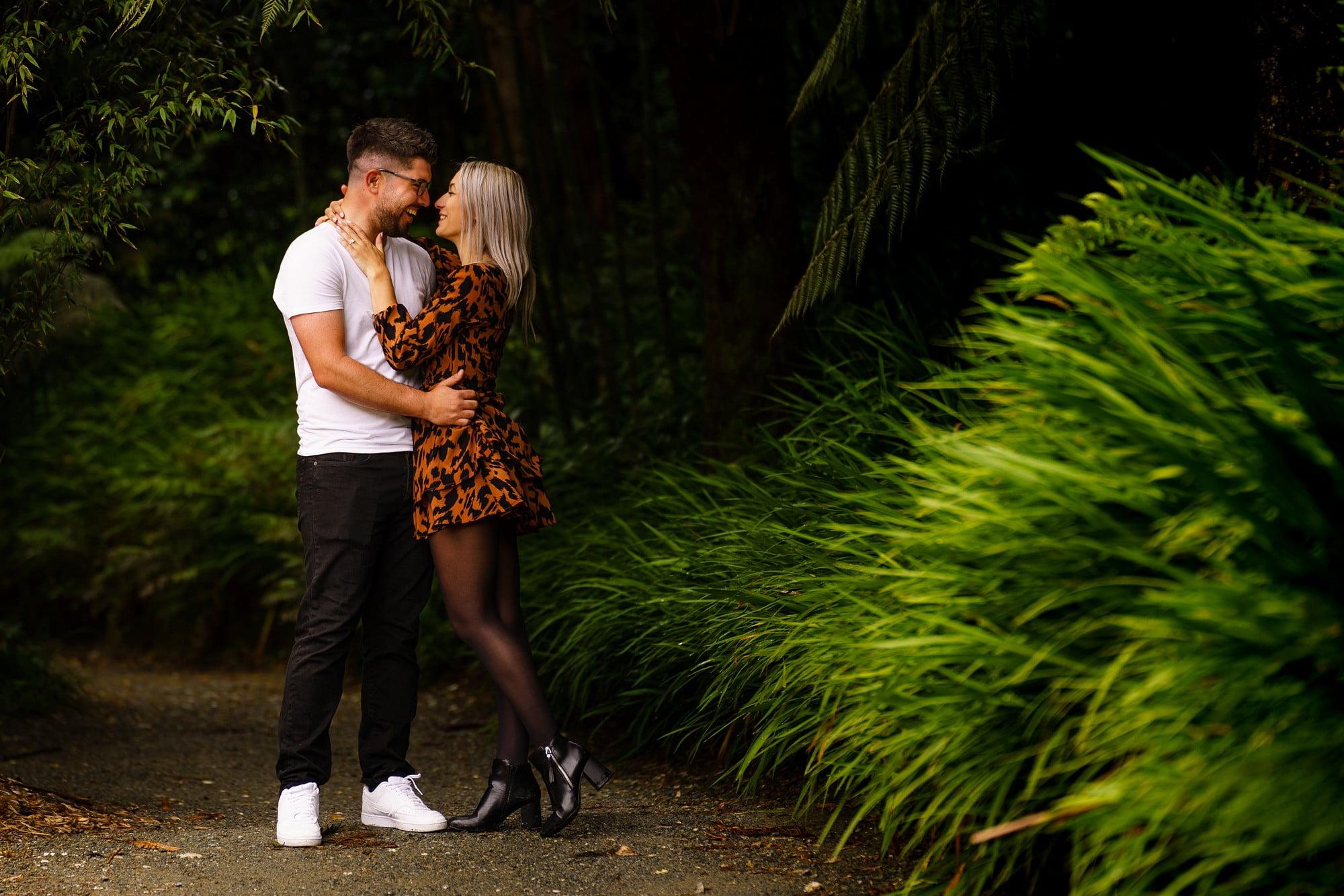 Romantic wedding proposal in Cornwall 110