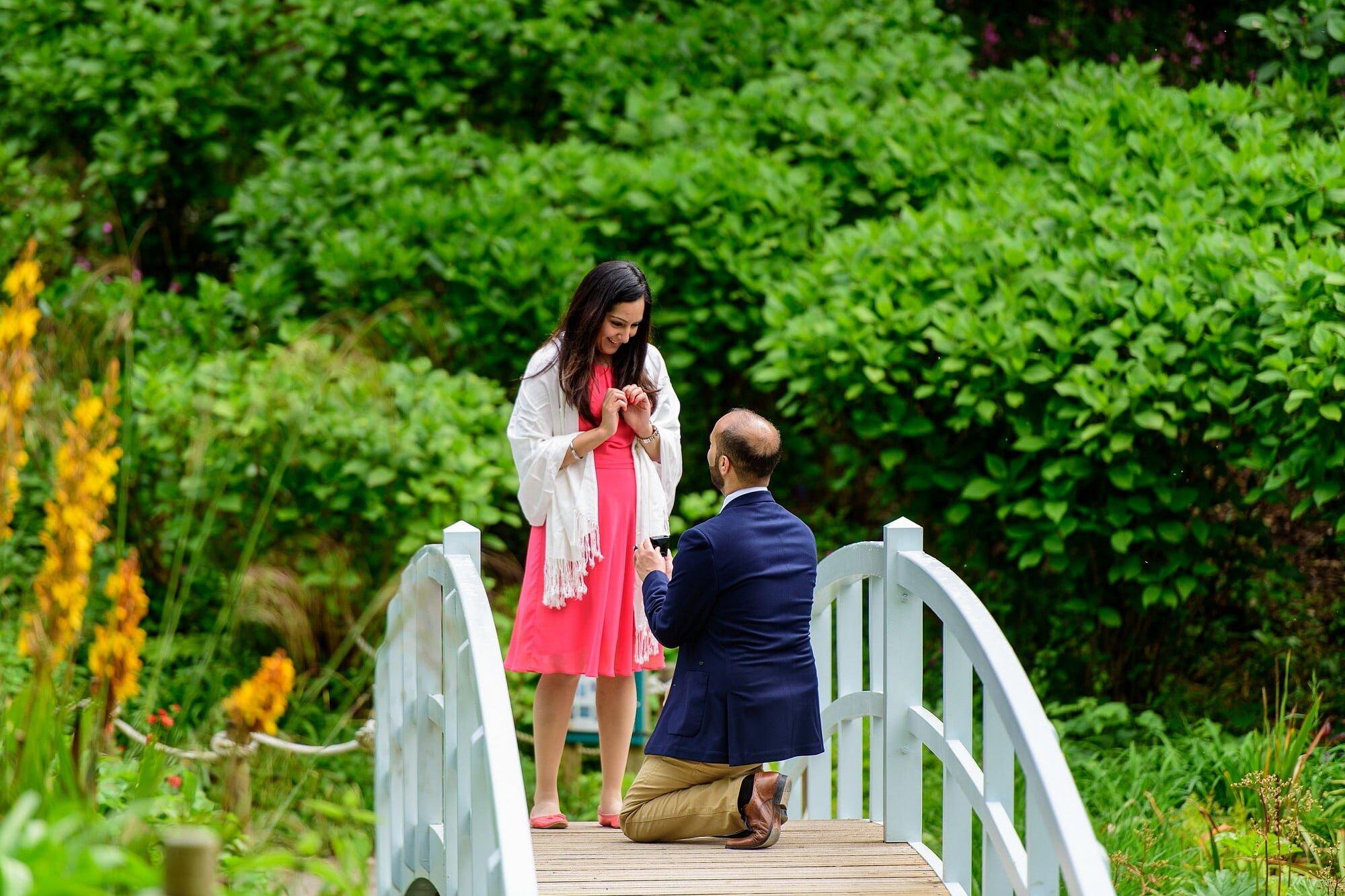 Romantic wedding proposal in Cornwall 2