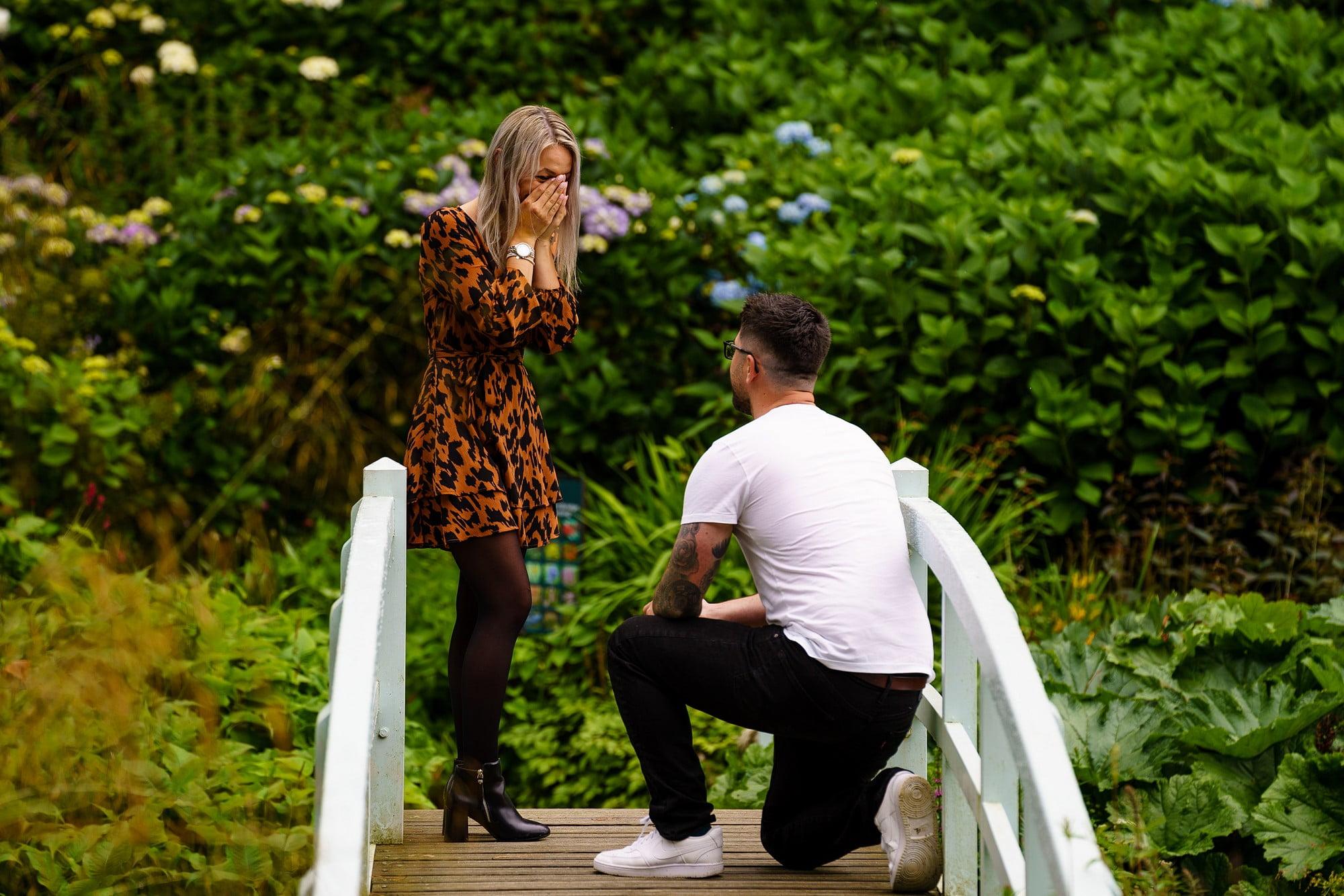 Romantic wedding proposal in Cornwall 9